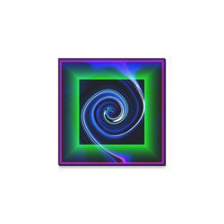 "Dance in Neon - Jera Nour Canvas Print 6""x6"""