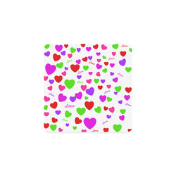 Love And Hearts Square Coaster
