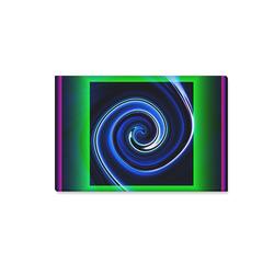 "Dance in Neon - Jera Nour Canvas Print 18""x12"""