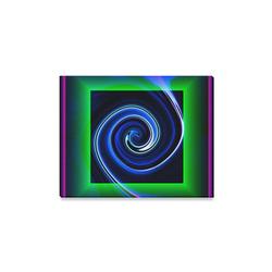 "Dance in Neon - Jera Nour Canvas Print 14""x11"""