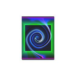 "Dance in Neon - Jera Nour Canvas Print 12""x16"""