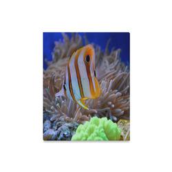 "Coral Reef Fish Canvas Print 16""x20"""