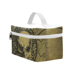 Amazing skull with skeletons Cosmetic Bag/Large (Model 1658)