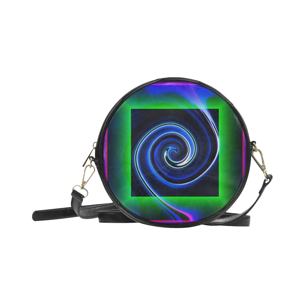 Dance in Neon - Jera Nour Round Sling Bag (Model 1647)