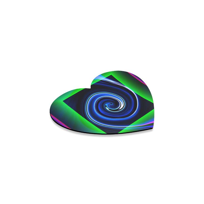 Dance in Neon - Jera Nour Heart Coaster