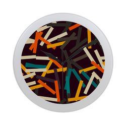 Sticks Circular Plastic Wall clock