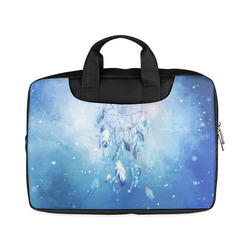 "A wounderful dream catcher in blue Macbook Air 11""(Two sides)"
