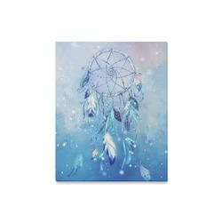 "A wounderful dream catcher in blue Canvas Print 16""x20"""