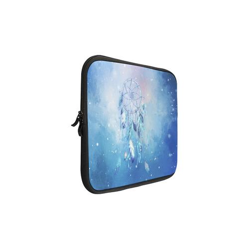 A wounderful dream catcher in blue Macbook Pro 11''