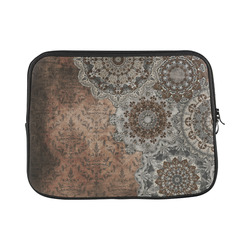 Elegant grey brown vintage mandalas Macbook Pro 11''
