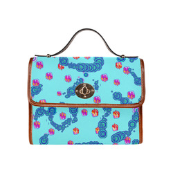 peper Waterproof Canvas Bag/All Over Print (Model 1641)