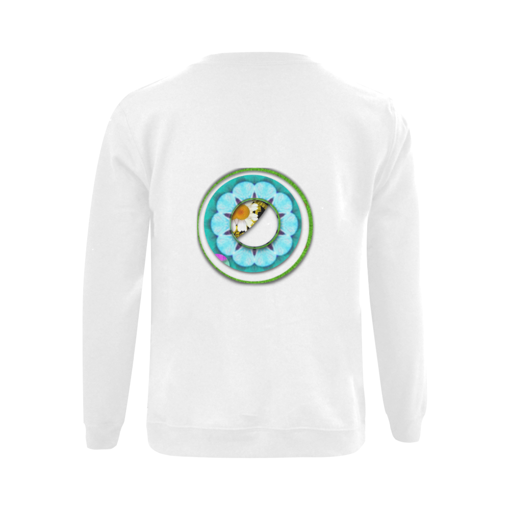 Cool I Am Gildan Crewneck Sweatshirt(NEW) (Model H01)