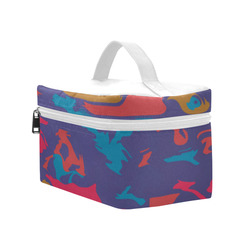 Chaos in retro colors Cosmetic Bag/Large (Model 1658)