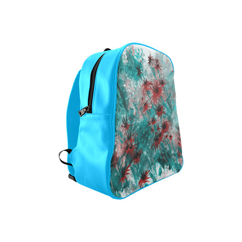 Canvas School Backpack (Model 1601)(Small)