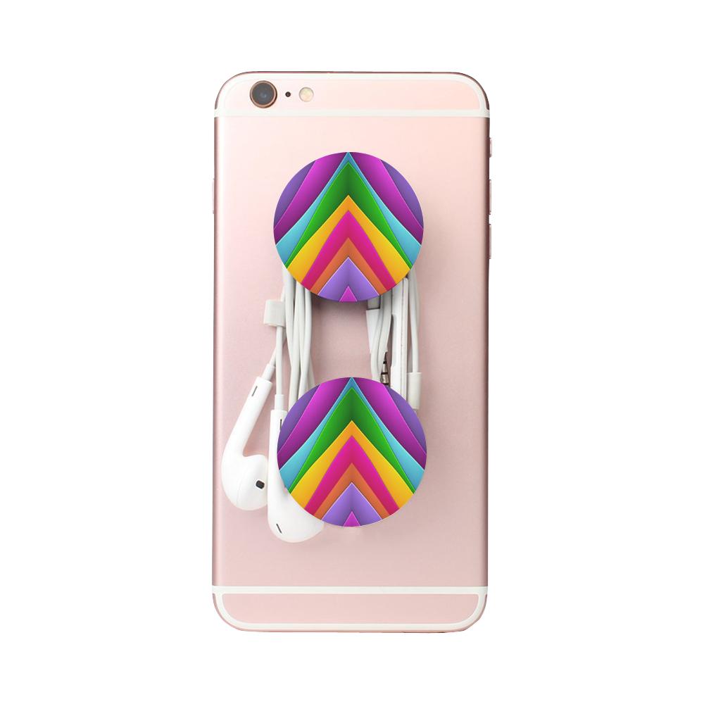 Colorful Pyramid Air Smart Phone Holder
