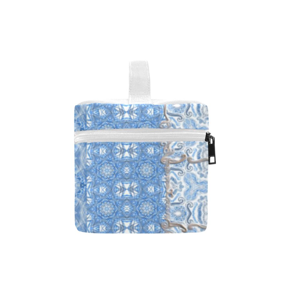 blue travel Lunch Bag/Large (Model 1658)