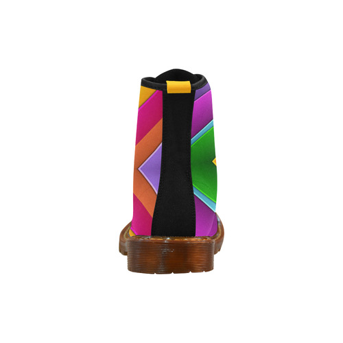 Colorful Pyramid Martin Boots For Men Model 1203H
