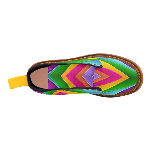 Colorful Pyramid Martin Boots For Women Model 1203H