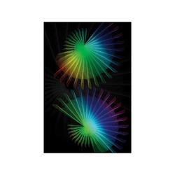 """Rainbow Fan Poster 20""""x30"""""""