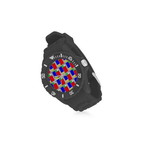 VISION Sport Rubber Strap Watch(Model 301)
