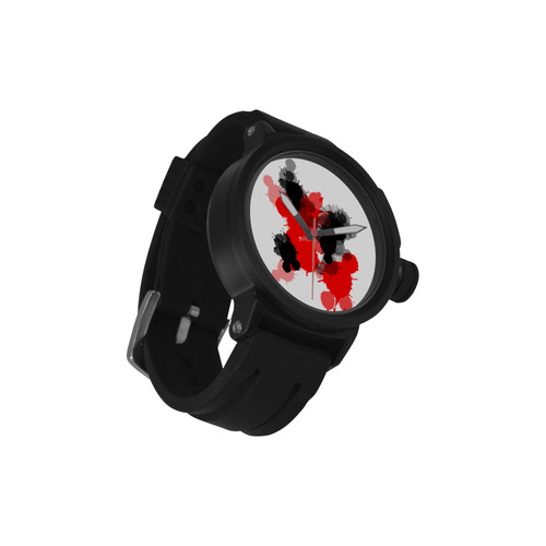 Ink Splatter Men's Sports Watch(Model 309)