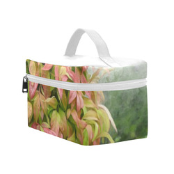 Pot full of colors, floral watercolors, plant Cosmetic Bag/Large (Model 1658)