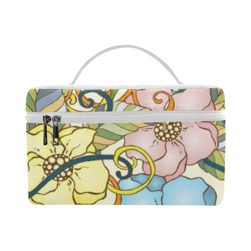 Vintage Flowers (1) Lunch Bag/Large (Model 1658)