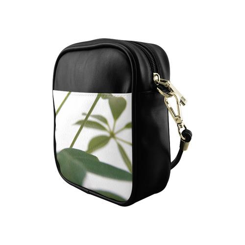 Green Art Sling Bag (Model 1627)