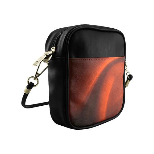 Red Chiaroscuro Sling Bag (Model 1627)