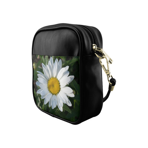 White Daisy Sling Bag (Model 1627)