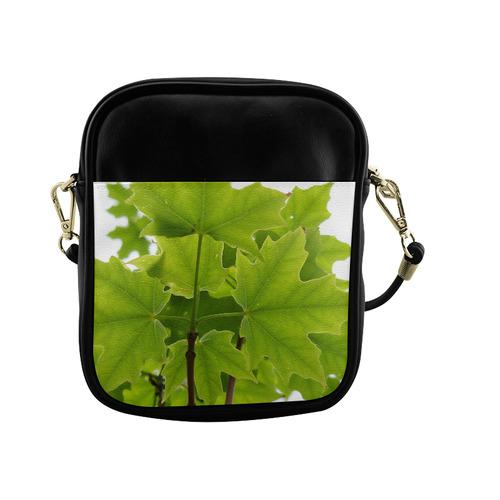 Sugar Maple Leaves Sling Bag (Model 1627)
