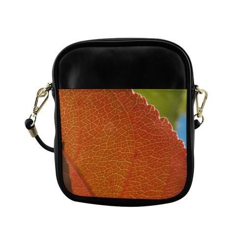 Crab Apple Leaf Sling Bag (Model 1627)