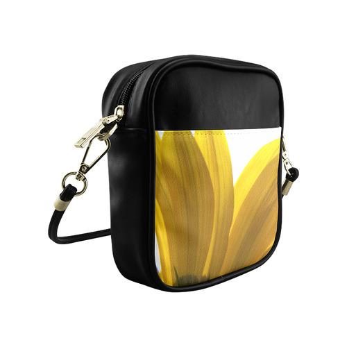 Yellow Daisy Light Sling Bag (Model 1627)