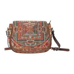 Mandala  of  Bodhisattva of Transcendent Wisdom Saddle Bag/Large (Model 1649)