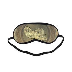 Mandala of cute elephant Sleeping Mask