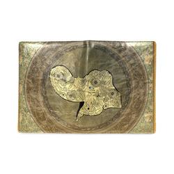 Mandala of cute elephant Custom NoteBook B5