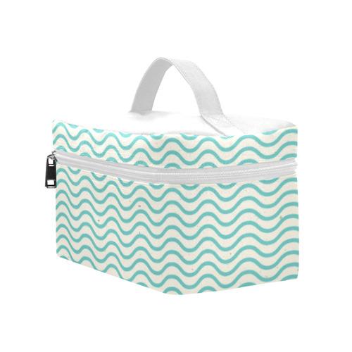 Blue Waves Lunch Bag/Large (Model 1658)