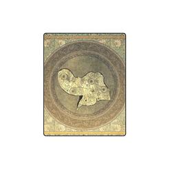 "Mandala of cute elephant Blanket 40""x50"""