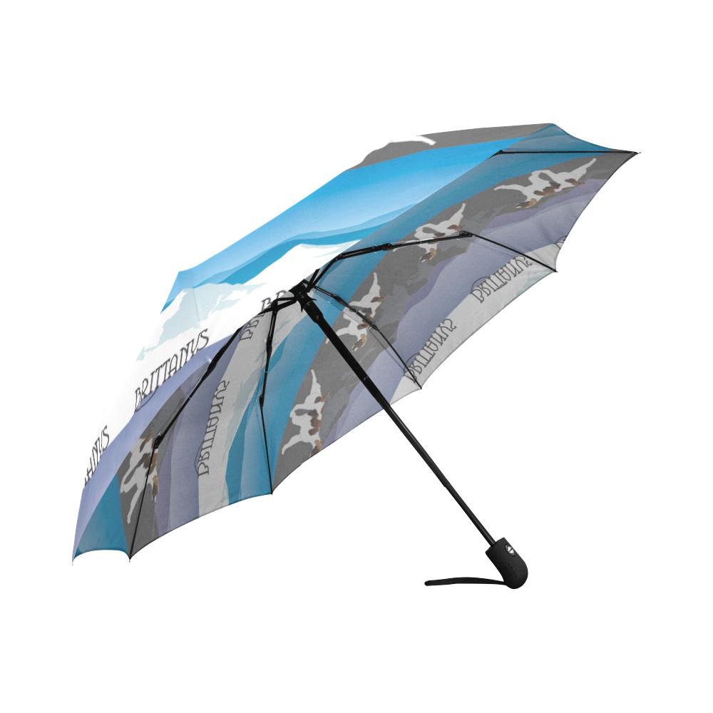 Brittanys Rockin The Rockies Auto-Foldable Umbrella (Model U04)