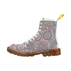 color skull 8 by JamColors Martin Boots For Women Model 1203H