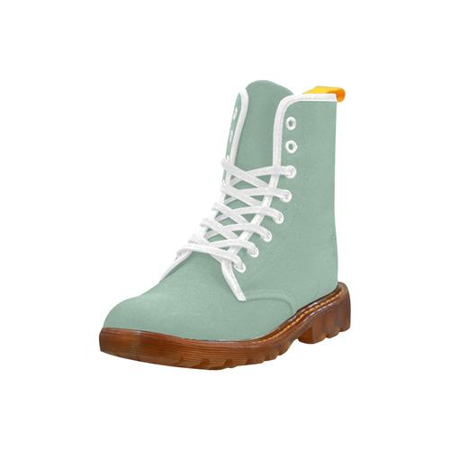 Grayed Jade Martin Boots For Women Model 1203H