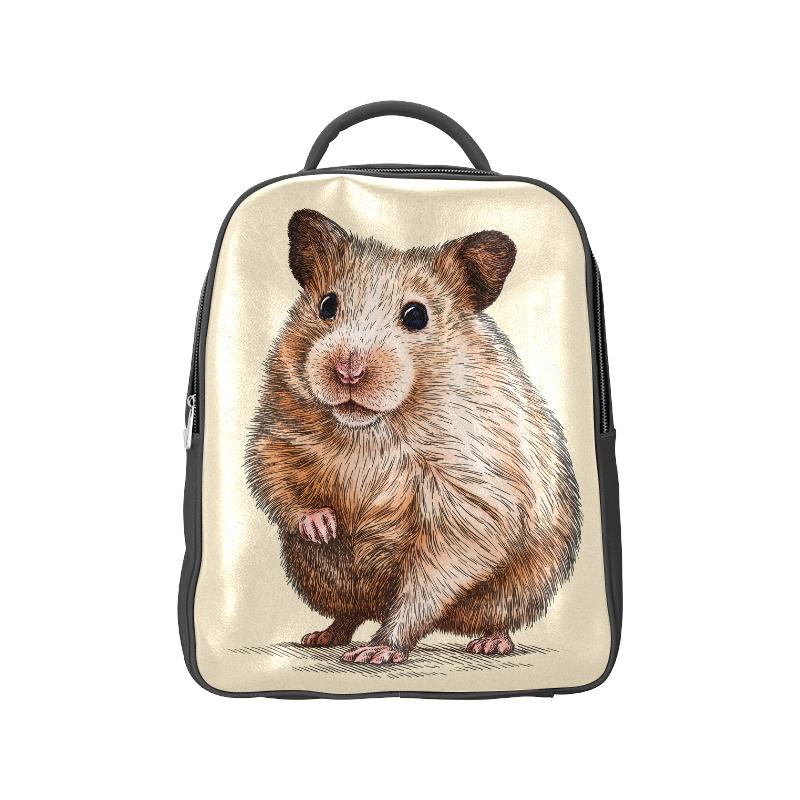 engrave hamster Popular Backpack (Model 1622)