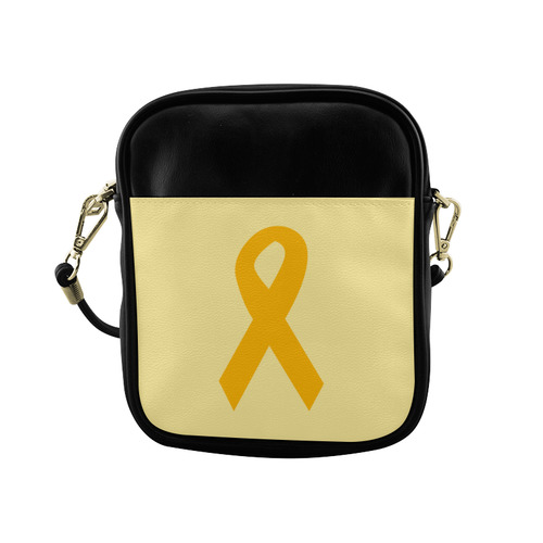 Orange Ribbon Sling Bag (Model 1627)