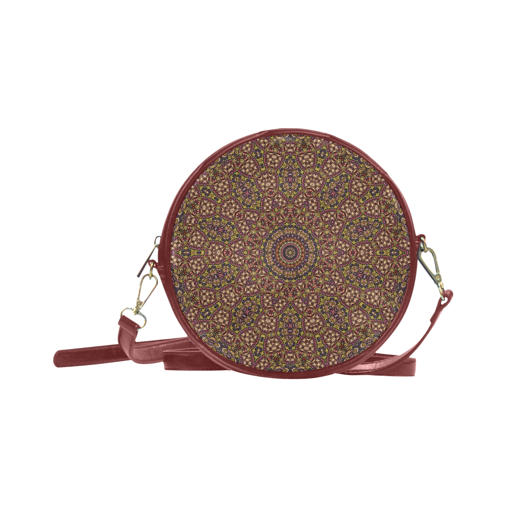 Batik Maharani #2B - Jera Nour Round Sling Bag (Model 1647)