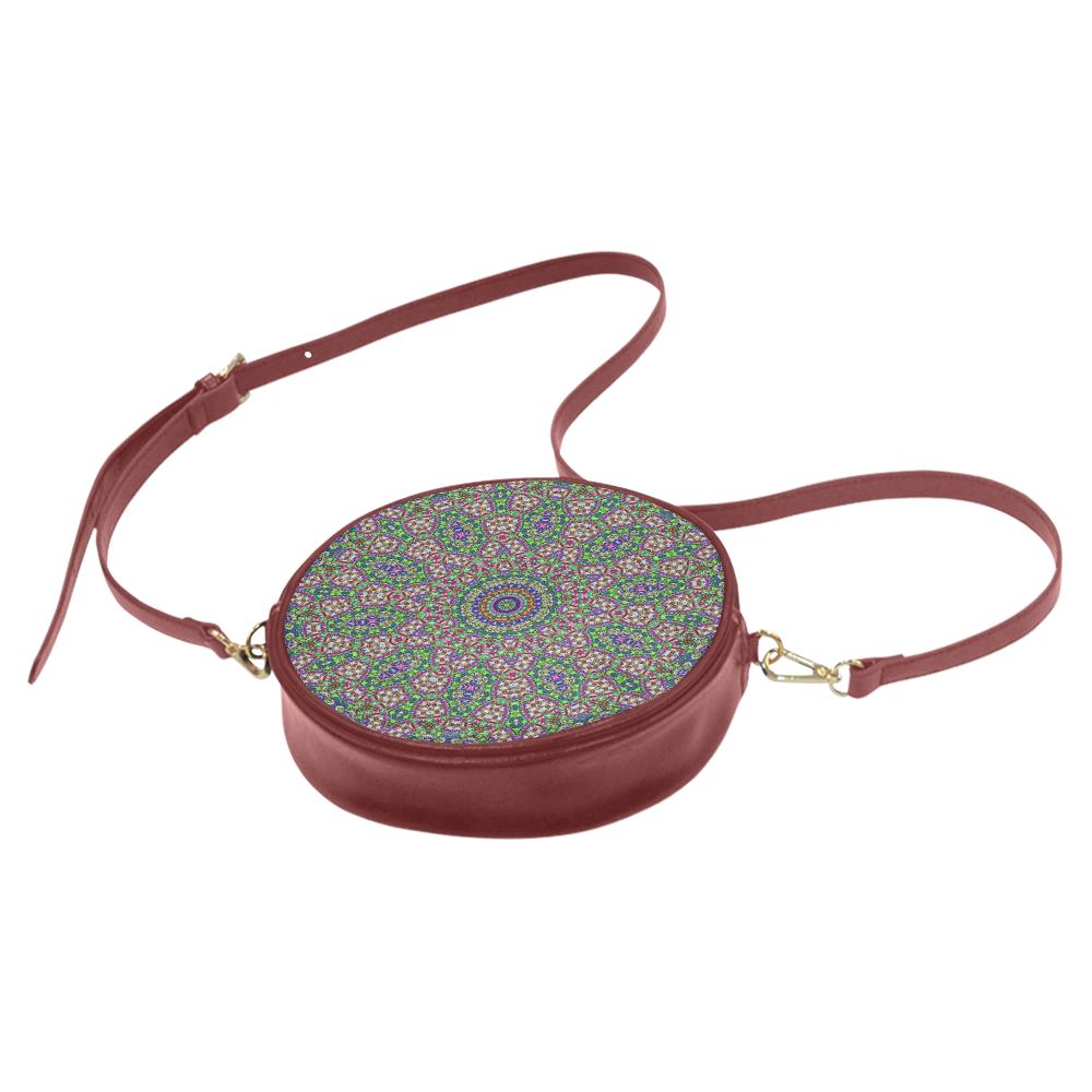 Batik Maharani #2A - Jera Nour Round Sling Bag (Model 1647)