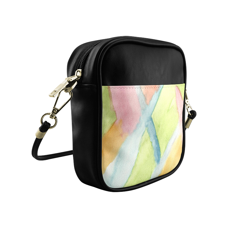 Pastel Stained Glass Sling Bag (Model 1627)