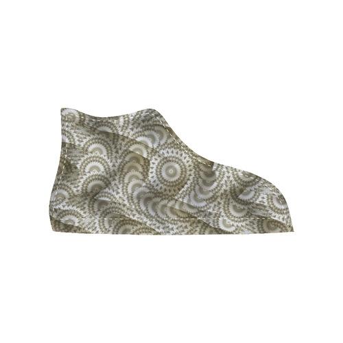 Batik Maharani #4A - Jera Nour High Top Canvas Women's Shoes/Large Size (Model 002)