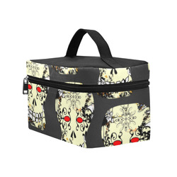 Gothic Sugar Skull by Martina Webster Cosmetic Bag/Large (Model 1658)