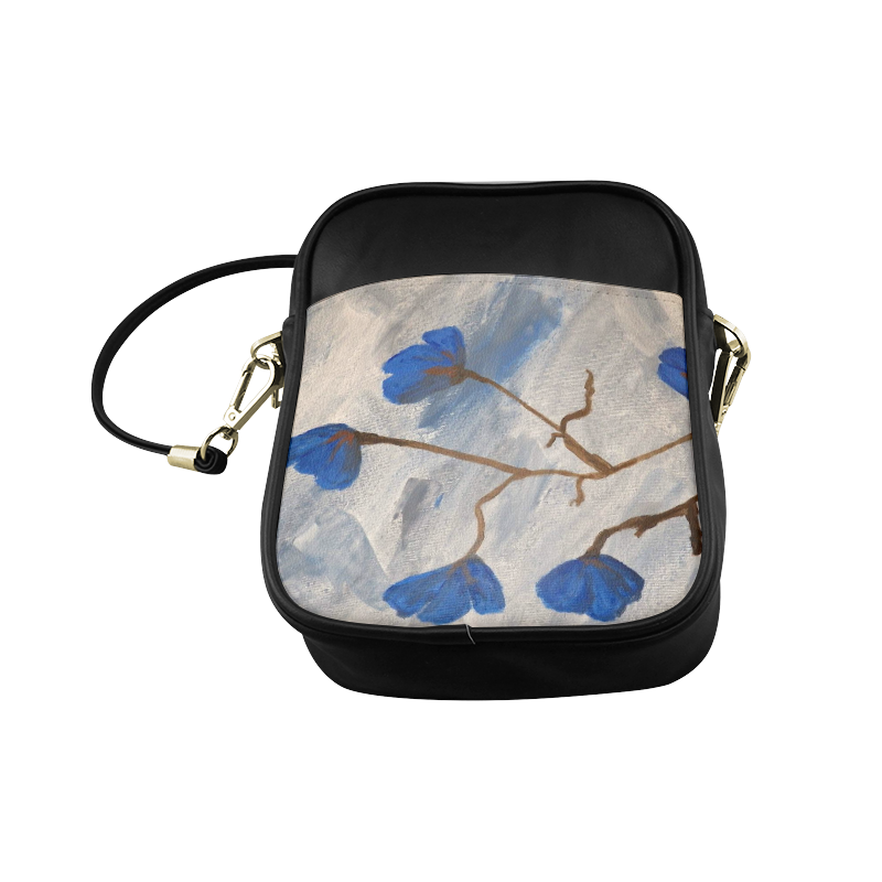 Azur Floraison Sling Bag (Model 1627)