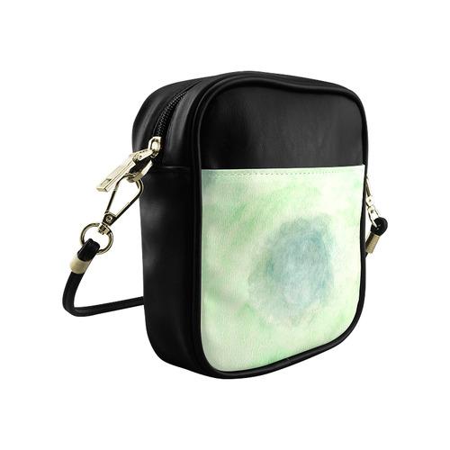 Green Dimension Flower Sling Bag (Model 1627)